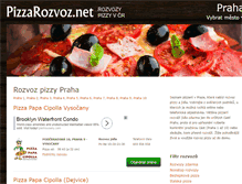Tablet Preview of pizzarozvoz.net